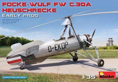 Focke-Wulf Fw 30 Heuschrecke автожир - 41012 MiniArt 1:35