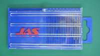 Мини-сверла, диаметр 0,3 - 1,6 мм, набор 20 шт., HSS (Желтые)