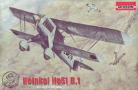 He.51 B-1 Heinkel истребитель-биплан - 452 Roden 1:48
