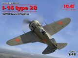 И-16 тип 28 истребитель - 48098 ICM 1:48