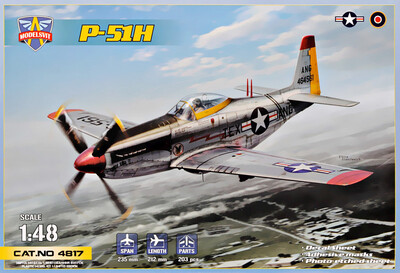 P-51H Mustang (Мустанг) истребитель - 4817 Modelsvit 1:48