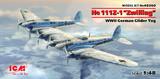 Glider Tug He.111Z буксировщик планеров - 48260 ICM 1:48