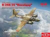 B-26B-50 Инвейдер Американский бомбардировщик - 48281 ICM 1:48