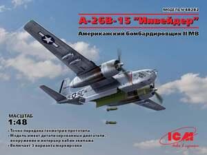 A-26B-15 Invader Американский бомбардировщик - 48282 ICM 1:48