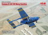 Cessna O-2A (Цессна О-2А) легкий самолет - 48291 ICM 1:48