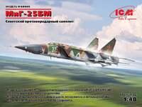 МиГ-25БМ Советский противорадарный самолет - 48905 ICM 1:48