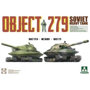 Объект-279 + Объект-279M + NBC Soldier - 5005 Takom 1:72