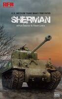 M4A3 76W HVSS Sherman (Шерман) средний танк - RM-5042 RyeField Model 1:35