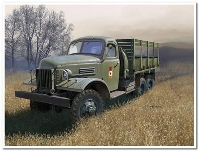 ЗиС-151 грузовой автомобиль повышенной проходимости - 83845 Hobby Boss 1:35