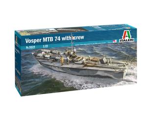 Vosper MTB 74 w/crew торпедный катер - 5624 Italeri 1:35
