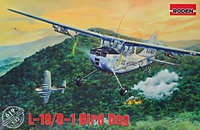 L-19O-1 Bird Dog Cessna легкомоторный самолет. 619 Roden 1:32