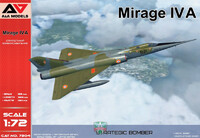 Mirage IVA стратегический бомбардировщик - 7204 A&A Models 1:72