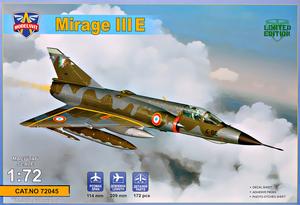 Mirage III E - 72045 Modelsvit 1:72