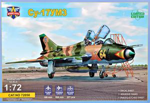 СУ-17УМ3 учебно-боевой истребитель-бомбардировщик - 72050 Modelsvit 1:72