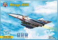 Mirage-4000 прототип истребителя - 72053 Modelsvit 1:72