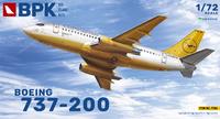 737-200 Lufthansa пассажирский лайнер - 7206 Big Plane Kit 1:72