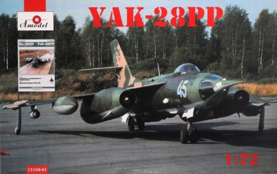 Як-28ПП - 72108-01 Amodel 1:72