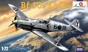 Bf.109E3/E4 Messerschmitt - 72117 Amodel 1:72