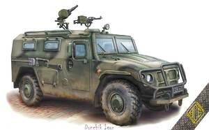 СТС Тигр бронеавтомобиль - 72177 ACE 1:72