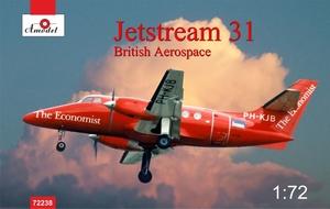 Jetstream-31 - 72238 Amodel 1:72