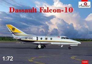 Falcon-10 Dassault - 72245 Amodel 1:72