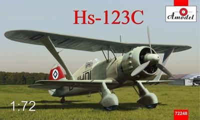 Hs.123C Henschel - 72248 Amodel 1:72