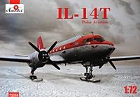 Ил-14Т самолет Полярной авиации - 72258 Amodel 1:72