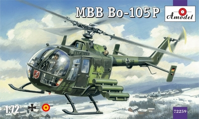 Bo-105P MBB - 72259 Amodel 1:72