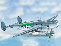 PV-1 Вентура (Ventura) морской бомбардировщик - патрульный самолет - 72267 Восточный Экспресс 1:72