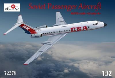Ту-134A - 72278 Amodel 1:72