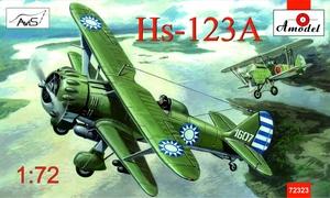 Hs.123A Henschel - 72323 Amodel 1:72