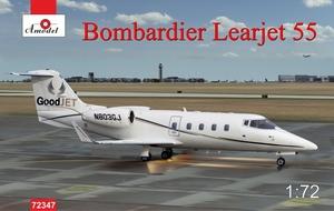 Learjet Bombardier - 72347 Amodel 1:72