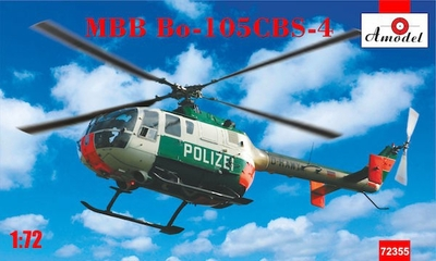 Bo-105 CBS-4 MBB - 72355 Amodel 1:72
