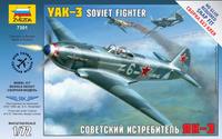 Як-3 советский истребитель - 7301 Звезда 1:72