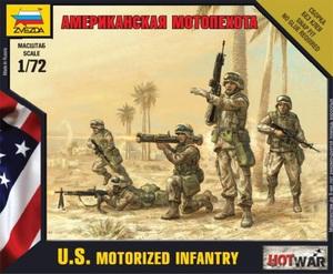 Американская мотопехота - 7407 Звезда 1:100