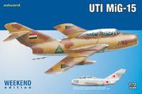 МиГ-15 УТИ учебно-боевой самолёт - 7433 Eduard 1:72