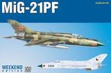 МиГ-21ПФ  перехватчик - 7455 Eduard 1:72