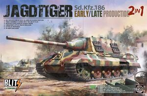 Sd.Kfz.186 Jagdtiger (Ягдтигр) early/late production 2 in 1 - 8001 Takom 1:35