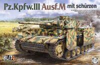 Pz.Kpfw.III Ausf.M mit Schurzen - 8002 Takom 1:35