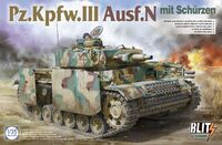 Pz.Kpfw.III Ausf.N mit Schurzen - 8005 Takom 1:35