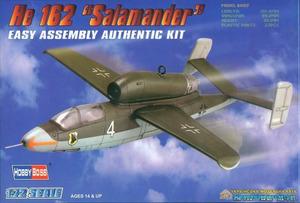 He-162 Salamander реактивный истребитель - 80239 HobbyBoss 1:72