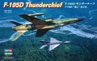 F-105D Thunderchief истребитель-бомбардировщик - 80332 HobbyBoss 1:48