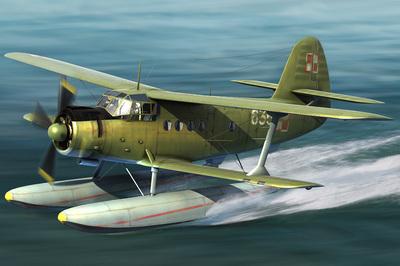 Ан-2В (Colt) гидросамолет - 81706 Hobby Boss 1:48