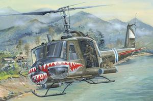 UH-1 Huey B вертолет - 81806 Hobby Boss 1:18