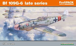 Bf.109G-6 поздний вариант - 82111 Eduard 1:48