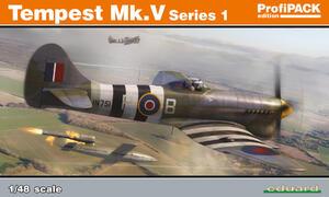 Tempest Mk.V (Темпест) 1-серия ProfiPak - 82121 Eduard 1:48