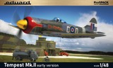 Tempest Mk.II early истребитель - 82124 Eduard 1:48