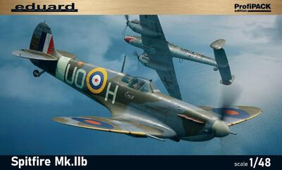 Spitfire Mk.Iib самолет-истребитель - 82154 Eduard 1:48