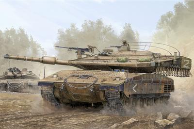 Merkava Mk.IV (Меркава) основной танк - 82429 Hobby Boss 1:35