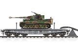 Schwere Plattformwagen Type SSyms-80 & Pz.Kpfw.VI Ausf.E - 82934 Hobby Boss 1:72